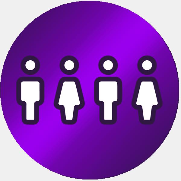 Symbol für Team fit